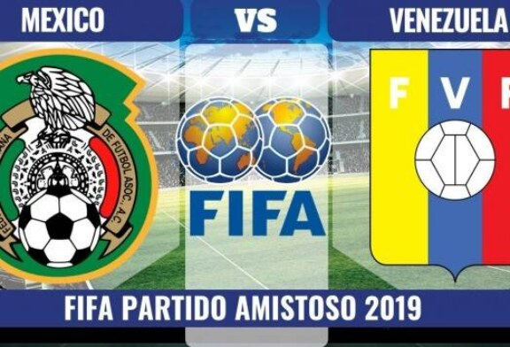 PARTIDO AMISTOSO MEXIVO VS VENEZUELA