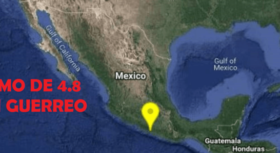 UN LEVE TEMBLOR SE DEJA SENTIR AYER EN LA CIUDAD DE MEXICO