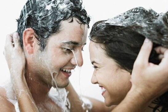 ¿Como se bañan mujeres y hombres? Asi!!!