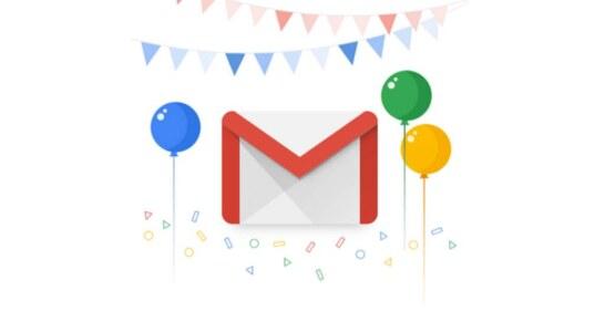 Gmail cumple 15 años y lo celebra con estas dos nuevas funciones